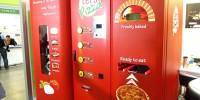 Maquina expendedora de Pizza lista en 3 minutos