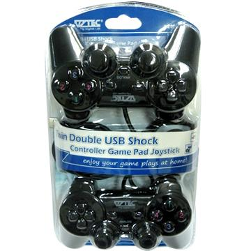 Chinese Dual Twin USB Gamepad Joystick Review + Driver